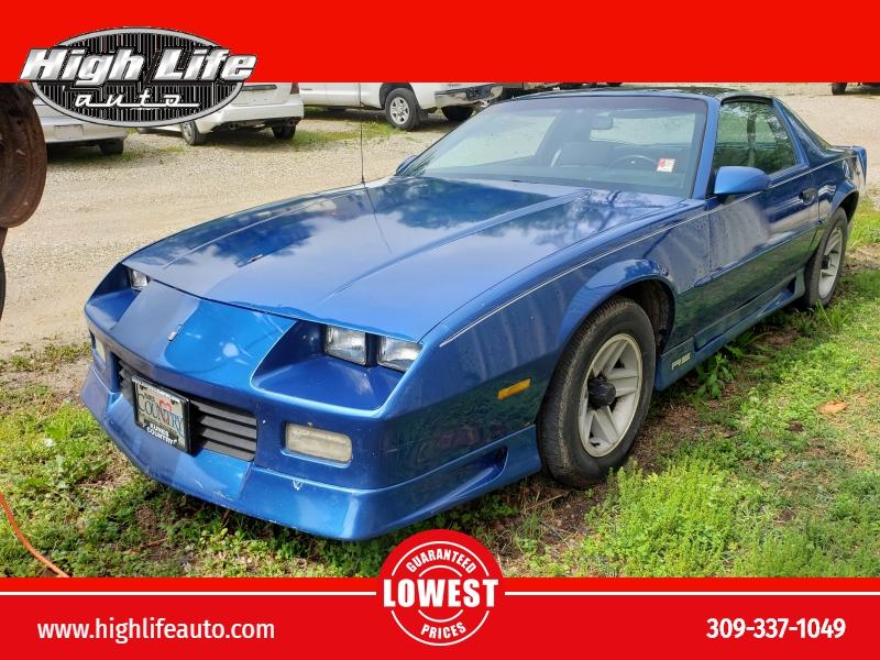 Chevrolet Camaro 1991 price $4,500