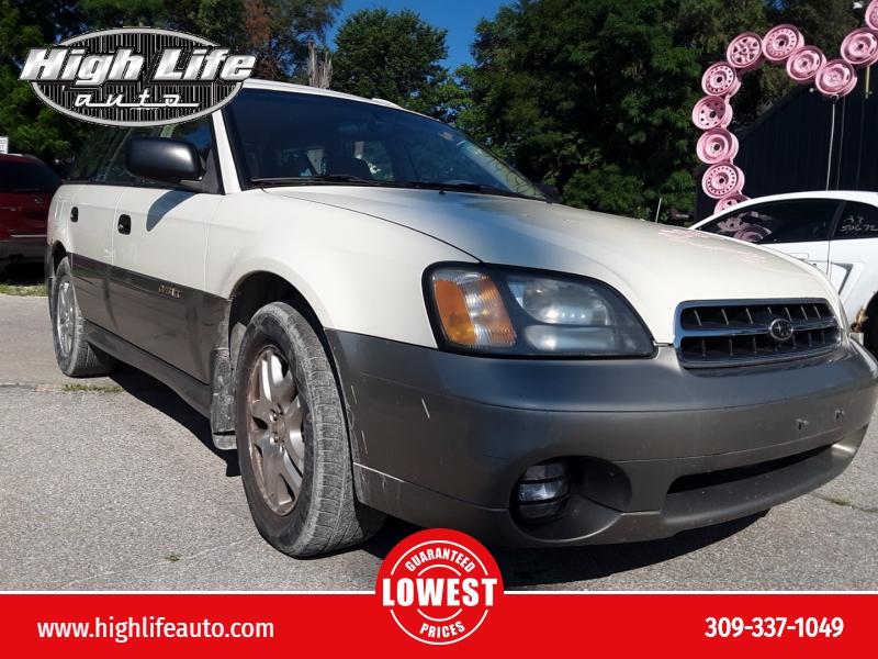 Subaru Legacy Wagon 2002 price $2,000