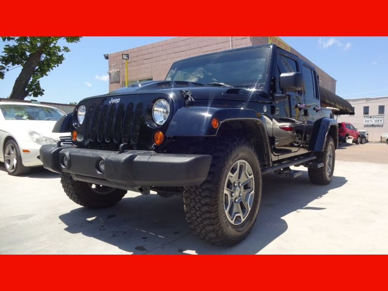Jeep Wrangler Unlimited 2012 price $21,999