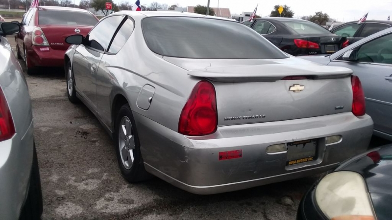 CHEVROLET MONTE CARLO 2007 price $299 Down