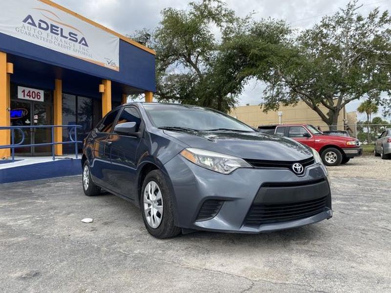 Toyota Corolla 2015 price $9,495