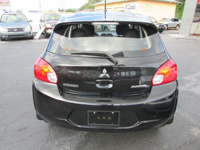 MITSUBISHI MIRAGE 2015 price $4,495