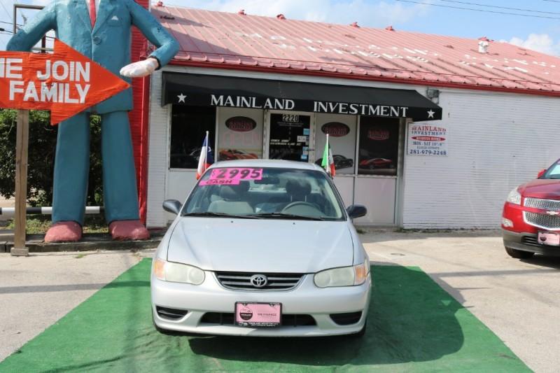 Toyota Corolla 2002 price $2,995