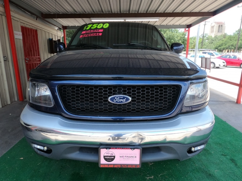 Ford F-150 2002 price $7,500 Cash