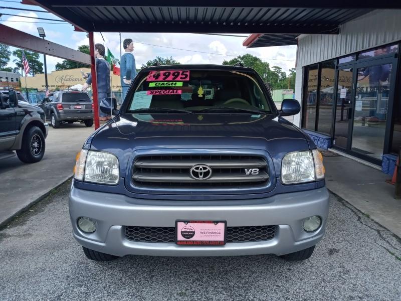 Toyota Sequoia 2002 price $4,995