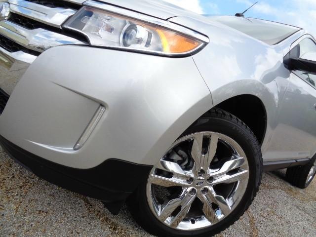 2012 Ford Edge 4dr Sel Navigation Leather Chrome Wheels Sharp