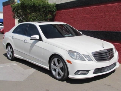 2010 Mercedes-Benz E-Class E 350 Sport 4dr Sedan
