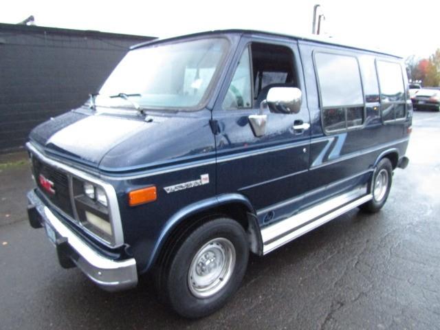 1994 GMC Vandura 2500 CUSTOM CONVERSION VAN SHORTY BLUE 1 OWNER