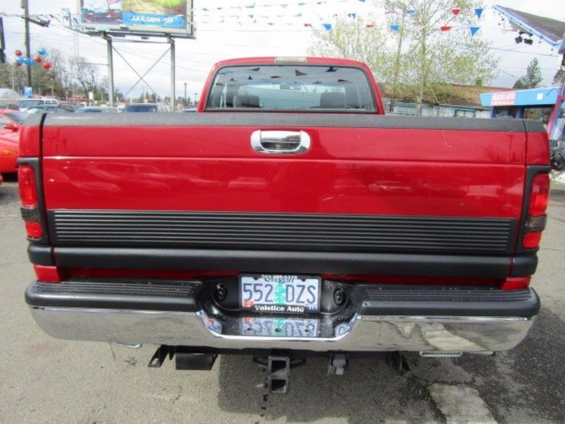 Dodge Ram 2500 1995 price $10,977