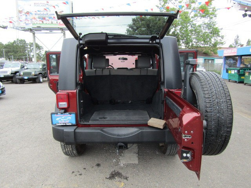 Jeep Wrangler Unlimited 2009 price $14,977