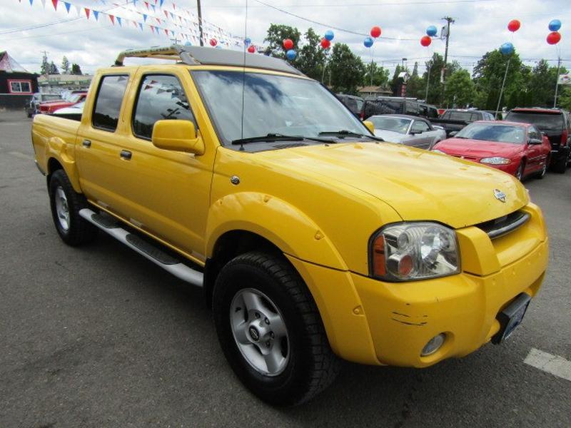 Nissan Frontier 2001 price $4,477