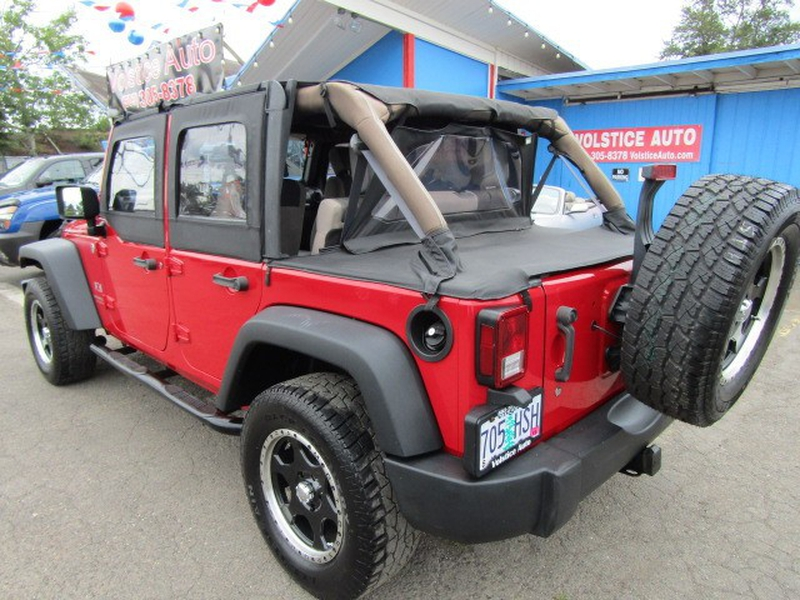 Jeep Wrangler 2007 price $13,477