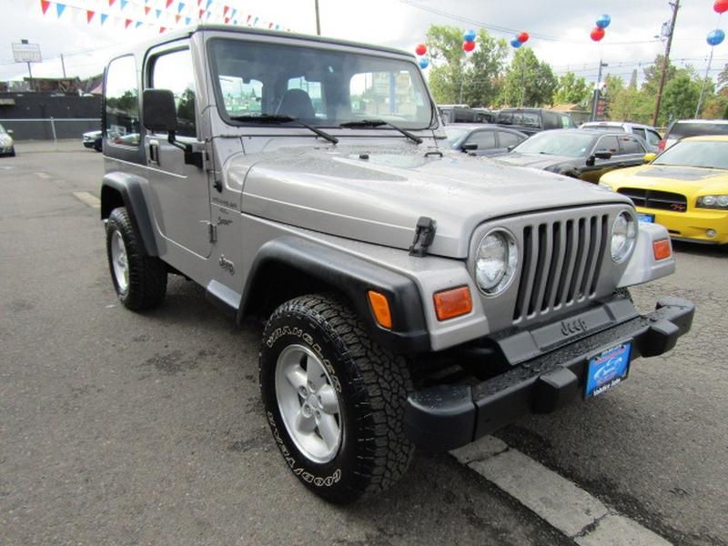 Jeep Wrangler 2000 price $7,977