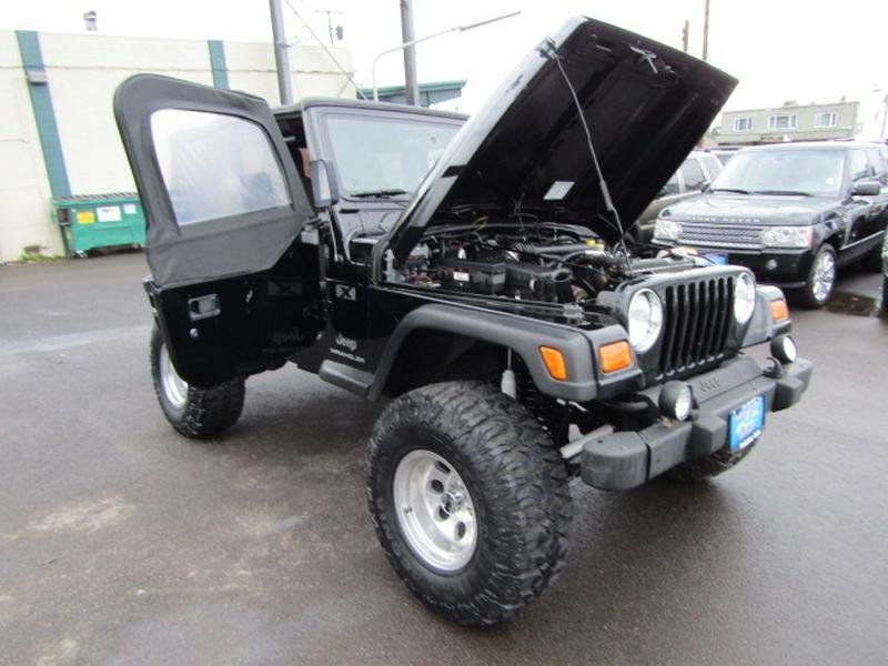Jeep Wrangler 2005 price $11,977