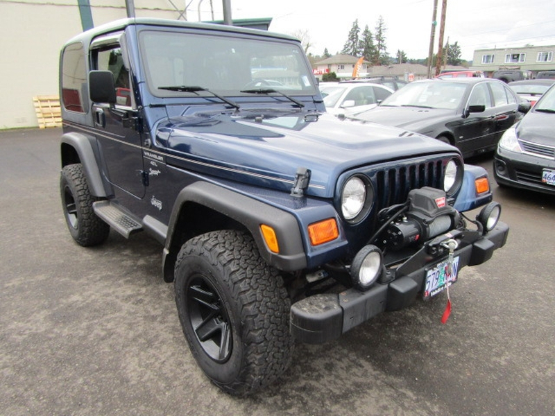 Jeep Wrangler 2000 price $11,977