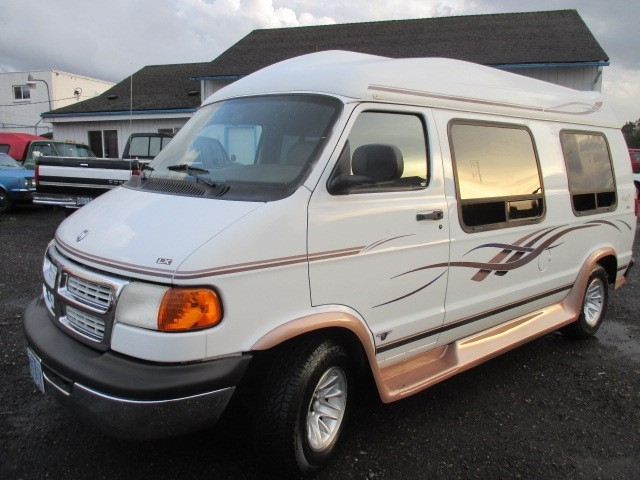 Dodge Conversion Van >> 1998 Dodge Ram Conversion Van Raised Roof Low Miles Clean