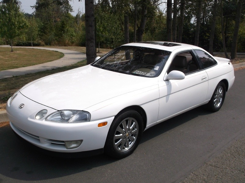1992 Lexus Sc 400 Coupe Auto White Runs Great Must See