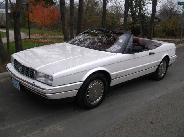 1992 Cadillac Allante Coupe Convertible Hardtop *PEARL WHITE* CLEAN