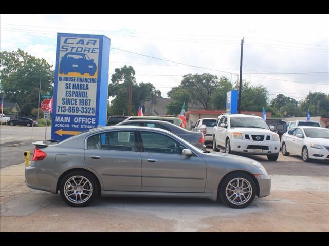 Infiniti G35 Sedan 2006 price $4,090 Cash Plus Tax T&L
