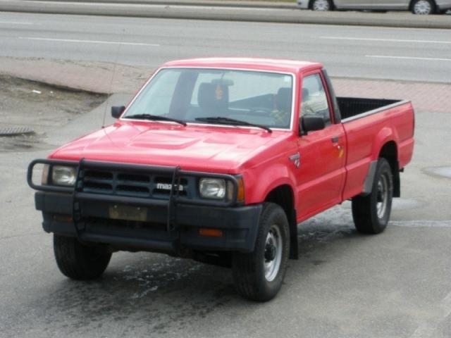 1993 Mazda B2600 4x4, 5SD, 168KM.Comes with 2 years warranty ...