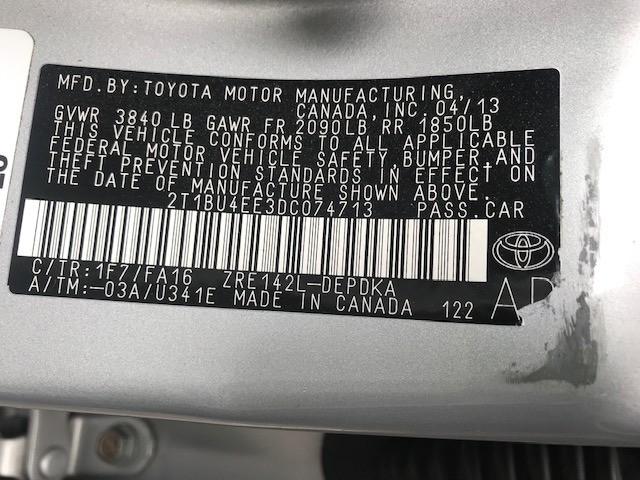 Toyota Corolla 2013 price $7,299