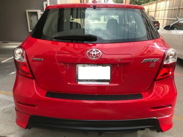 Toyota Matrix 2009 price $6,799