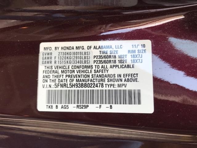 Honda Odyssey 2011 price $9,299
