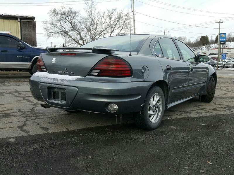 Pontiac Grand Am 2004 price $2,995