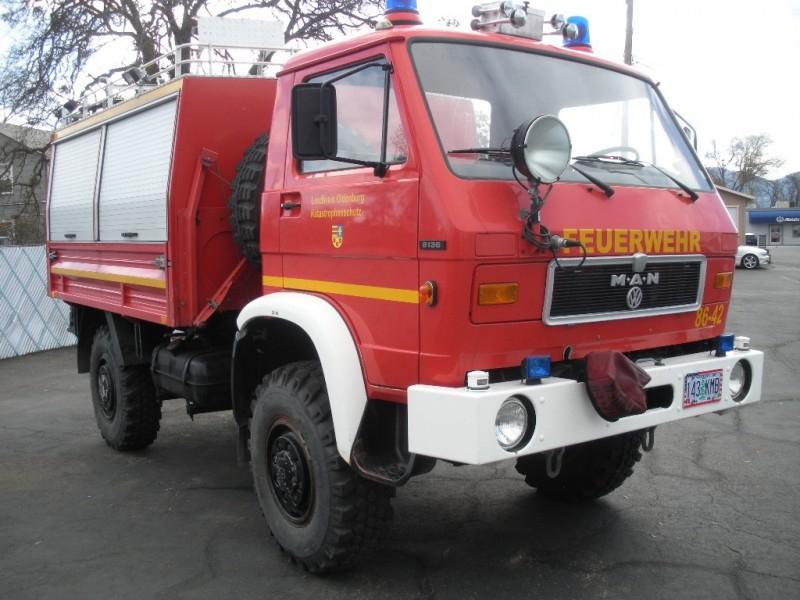 MAN Utility 1987 price $17,499