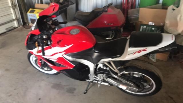2012 HONDA CBR 600 RR