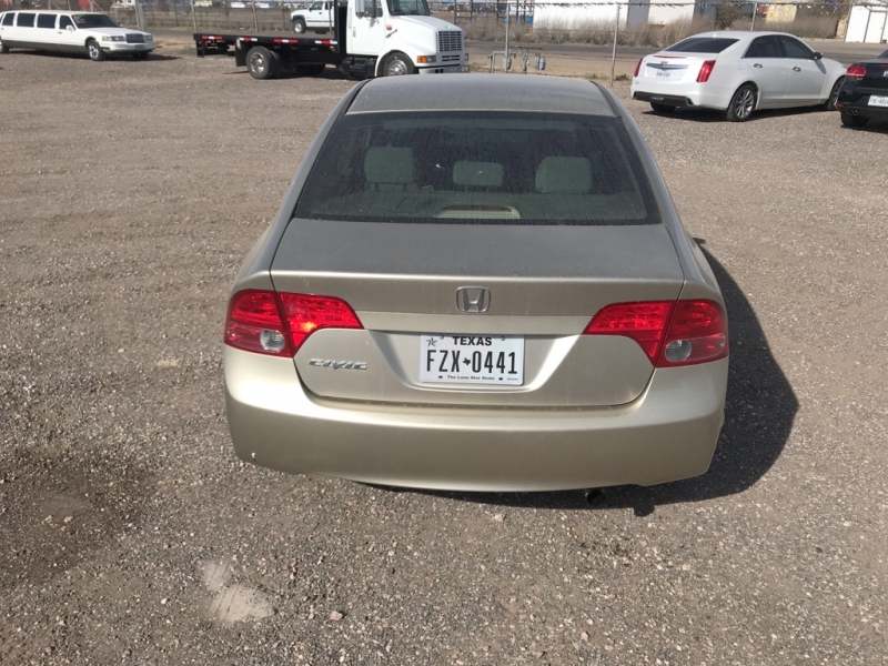 HONDA CIVIC 2008 price $6,750