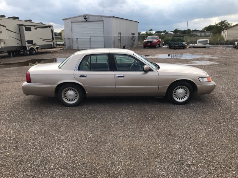 MERCURY GRAND MARQUIS 1998 price $3,750