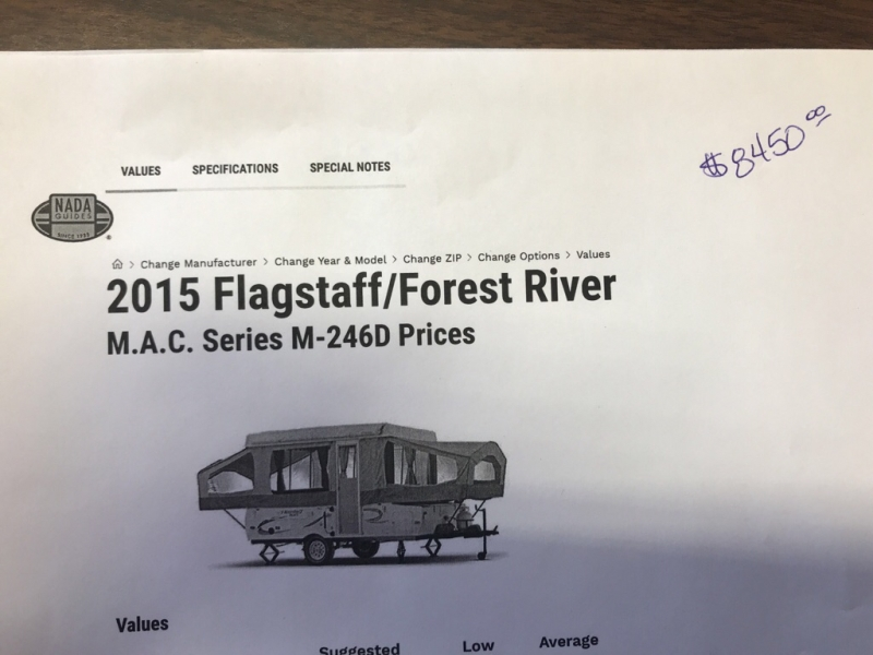 FLAGSTAFF/FOREST RIV MAC 2015 price Call for Pricing.