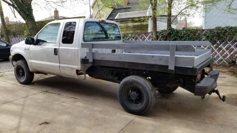 2001 FORD F-250 SUPER DUT