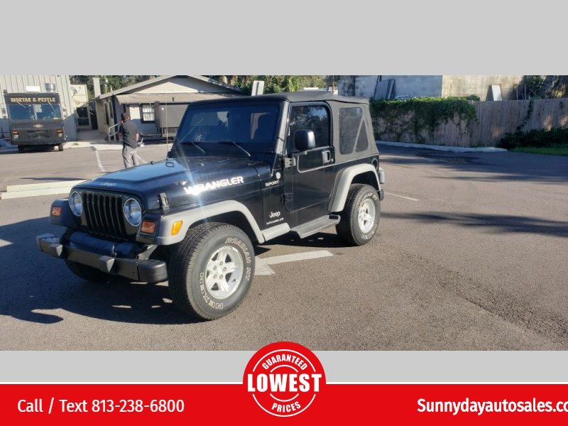 Jeep Wrangler 2005 price $8,950