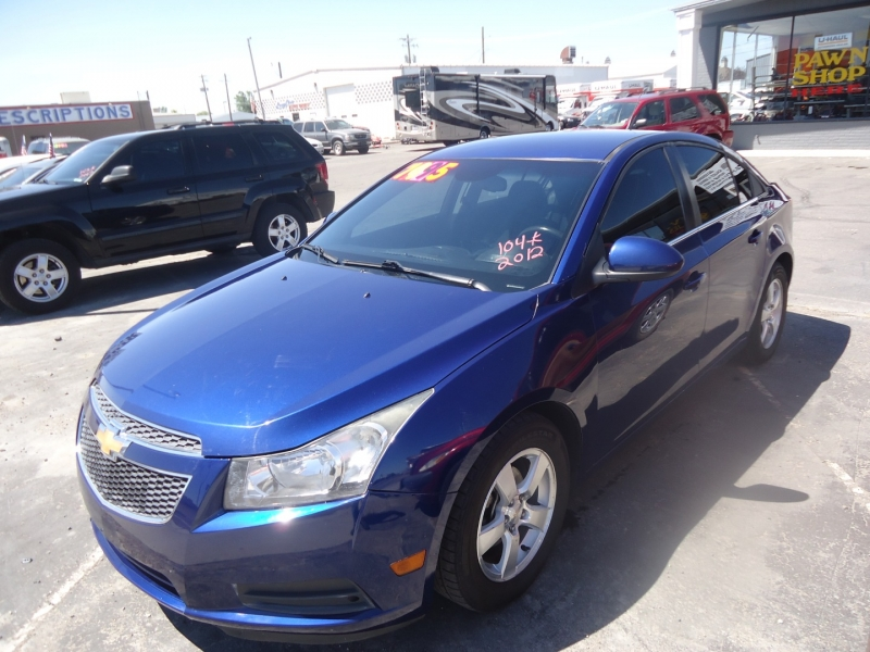 Chevrolet Cruze 2012 price $7,495
