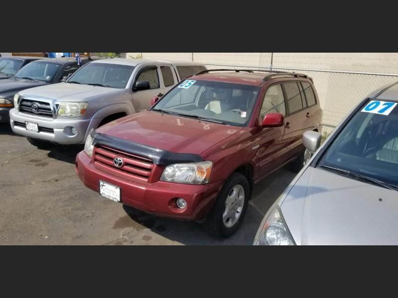 Toyota Highlander 2005 price $7,995