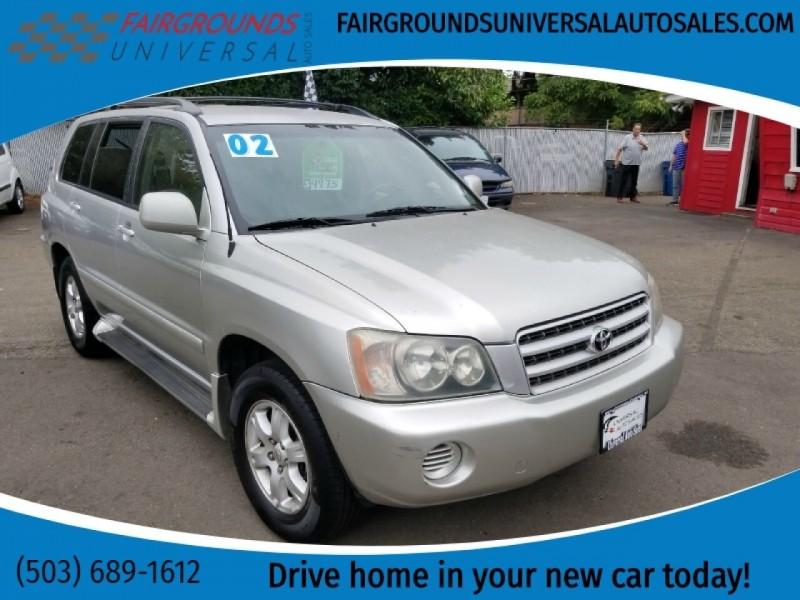 Toyota Highlander 2002 price $4,975