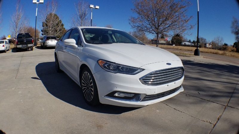 FORD FUSION 2018 price $18,705