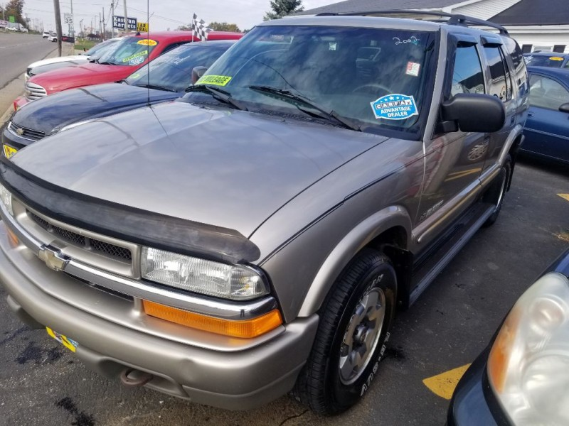 CHEVROLET BLAZER 2002 price $3,495