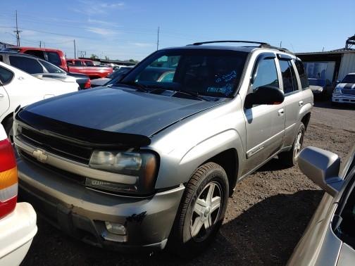 Chevrolet TrailBlazer 2002 price $0