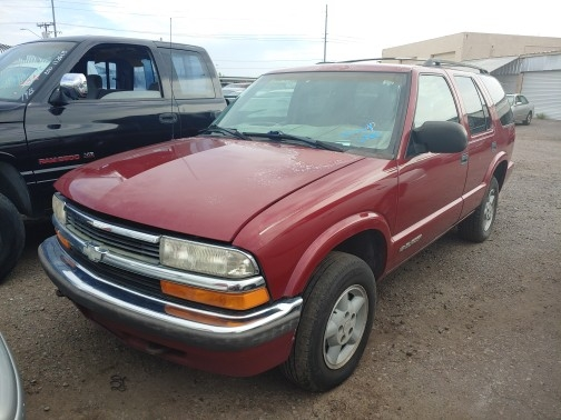 Chevrolet Blazer 1999 price $0