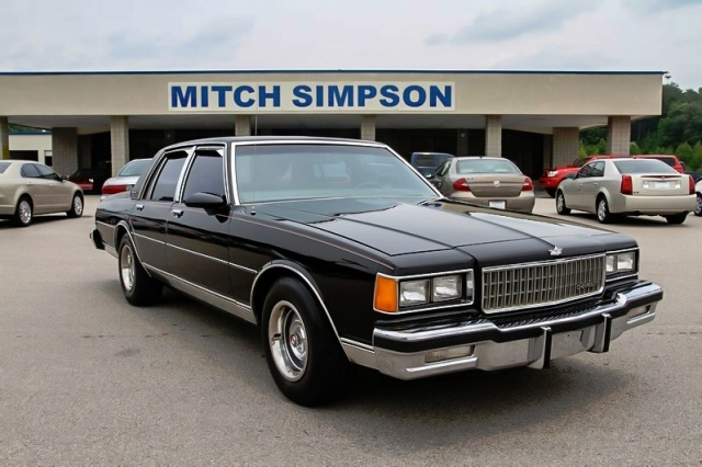 1986 CHEVROLET CAPRICE CLASSIC SUPER CLEAN LOW CARFAX DOCUMENTED