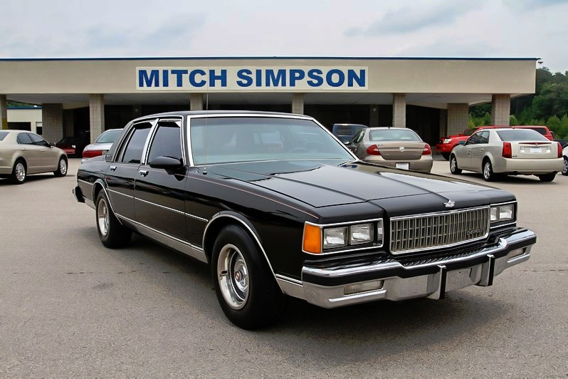 Mitch Simpson Used Cars >> 1986 CHEVROLET CAPRICE CLASSIC SUPER CLEAN LOW CARFAX DOCUMENTED MILES - Used Cars & Trucks ...