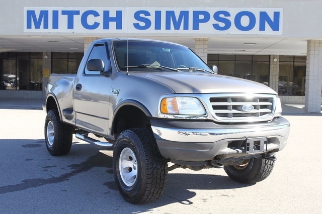2003 ford f 150 regular cab 4x4 stepside lifted great for Mitch simpson motors cleveland ga