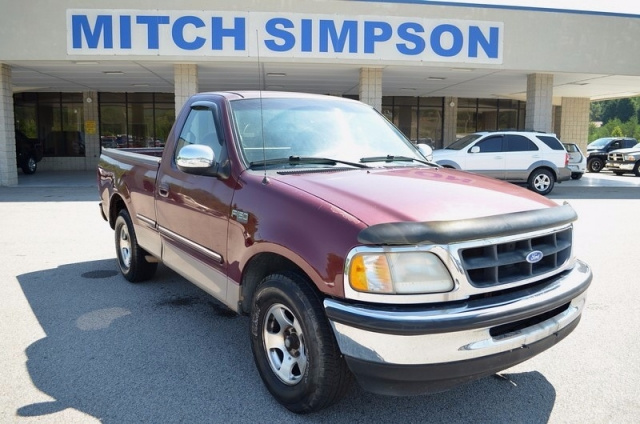 1997 ford f 150 regular cab 2wd xlt short bed good truck 4 for Mitch simpson motors cleveland ga