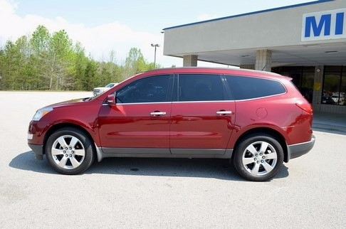 2011 Chevrolet TRAVERSE LT FWD SUNROOF DVD 1-OWNER
