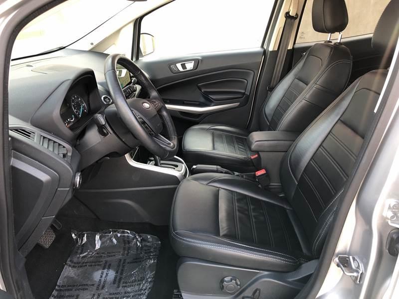 Ford EcoSport 2018 price $17,995