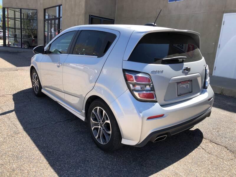 Chevrolet Sonic 2018 price $13,995