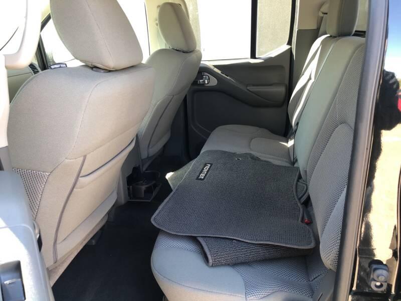 Nissan Frontier 2019 price $23,995